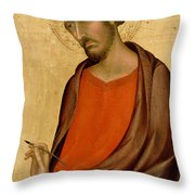 St Luke Throw Pillow