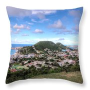 St. Maarten Throw Pillow