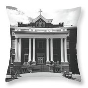 St. Mary's School - Raleigh, North Carolina Throw Pillow