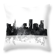 St Paul Minnesota Skyline Throw Pillow