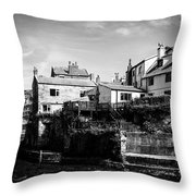 Staithes Village Throw Pillow