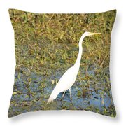 Stand Straight Throw Pillow