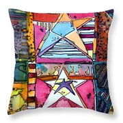 Star Power Throw Pillow