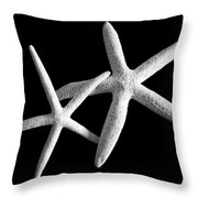 Starfish Tango Throw Pillow
