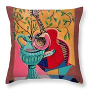Still Life With Sound Throw Pillow