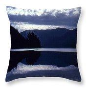 Still Mountain Lake 2  Throw Pillow