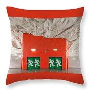 Stockholm Metro Art Collection - 005 Throw Pillow