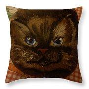 Stone Cats  Throw Pillow