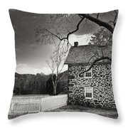 Stone Farmhouse Throw Pillow