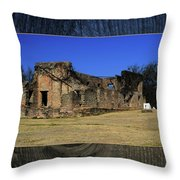 Stone Fort Throw Pillow