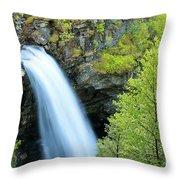 Storsaeterfossen Throw Pillow