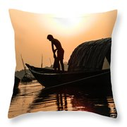 Story Of A Life Throw Pillow