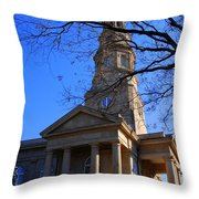 St.philips Episcopal Church In Charleston Sc Throw Pillow