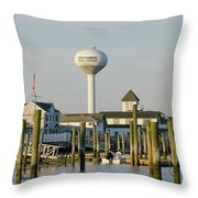 Strathmere New Jersey Throw Pillow
