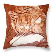 Stream - Tile Throw Pillow