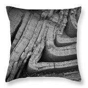 Stressful Folds Throw Pillow