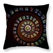 String Of Diamonds Throw Pillow