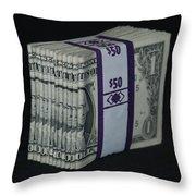 Stripper Stack Throw Pillow