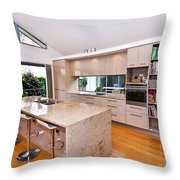 Stylish Modern Kitchen Throw Pillow