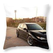Subaru Throw Pillow