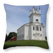 Sudbury Congregational Church  Throw Pillow
