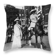 Suffragettes, 1913 Throw Pillow