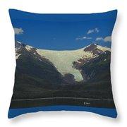Sumdum  Glacier Throw Pillow