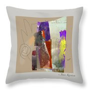 Summer Slumber 2 Throw Pillow