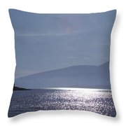 Sun On The Ocean  Throw Pillow