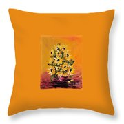 Sunflowers For You Throw Pillow