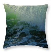 Sunlight And Surf Throw Pillow