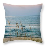 Sunrise And Sand Throw Pillow