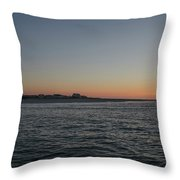 Sunrise At Townsends Inlet Throw Pillow