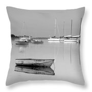 Sunrise In Osterville Cape Cod Massachusetts Throw Pillow