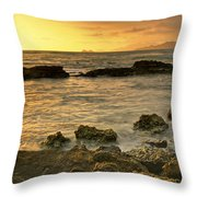 Sunrise Kaneohe Throw Pillow