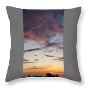 Sunrise With Clouds Il Throw Pillow