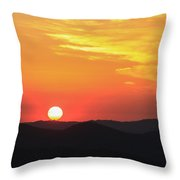 Sunset-1 Throw Pillow