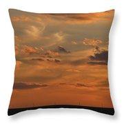 Sunset Strip II Throw Pillow