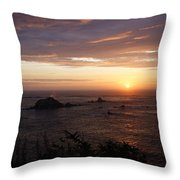 Sunset Watch Throw Pillow