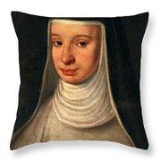 Suor Maria Celeste, Galileos Daughter Throw Pillow
