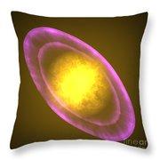 Supernova Star Throw Pillow