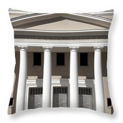 Supreme Courthouse In Tallahassee Florida Throw Pillow
