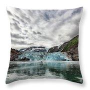 Surprise Glacier Throw Pillow