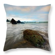 Surrounded By The Tides Throw Pillow
