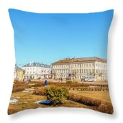 Susanin Square In Kostroma Throw Pillow