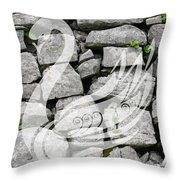 Swan Art Throw Pillow