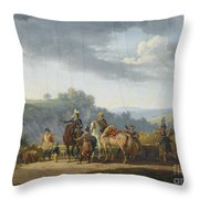 Swebach-desfontaines Throw Pillow