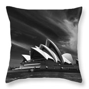 Sydney Opera House Throw Pillow