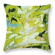 Symphony No. 8 Movement 18 Vladimir Vlahovic- Images Inspired By The Music Of Gustav Mahler Throw Pillow