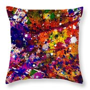 Synchronicity Throw Pillow